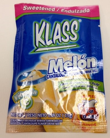 Picture of Klass Sweetened Cantaloupe Drink Mix (Pack of 3) - Item No. 54177-50168