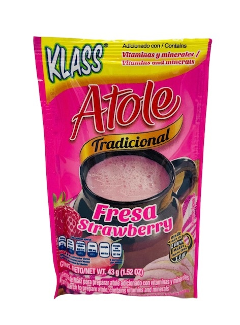 Picture of Klass Atole Strawberry flavor - Item No. 54177-83040