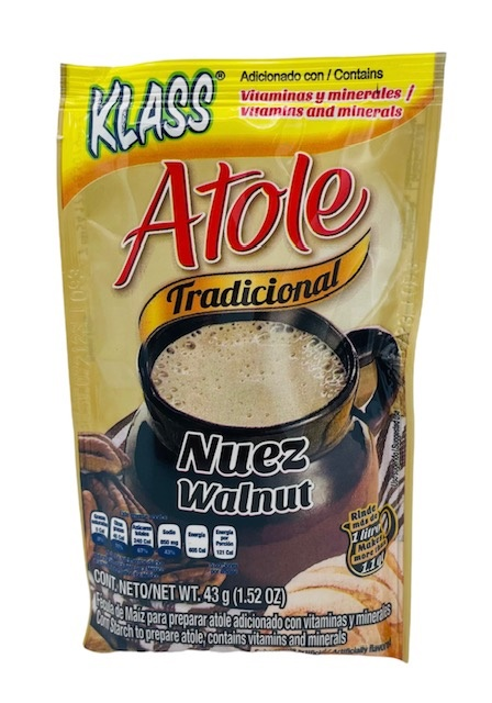 Picture of Klass Atole Walnut flavor&nbsp;- Item No.&nbsp;54177-83079