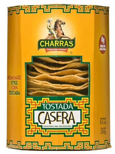 Picture of Charras Tostada Casera 8.5 oz&nbsp;- Item No.&nbsp;56702-13280