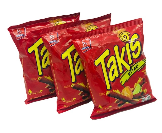 Picture of Takis Nitro Habanero & Lime by Barcel 4 oz (Pack of 3) - Item No. 57528-00311