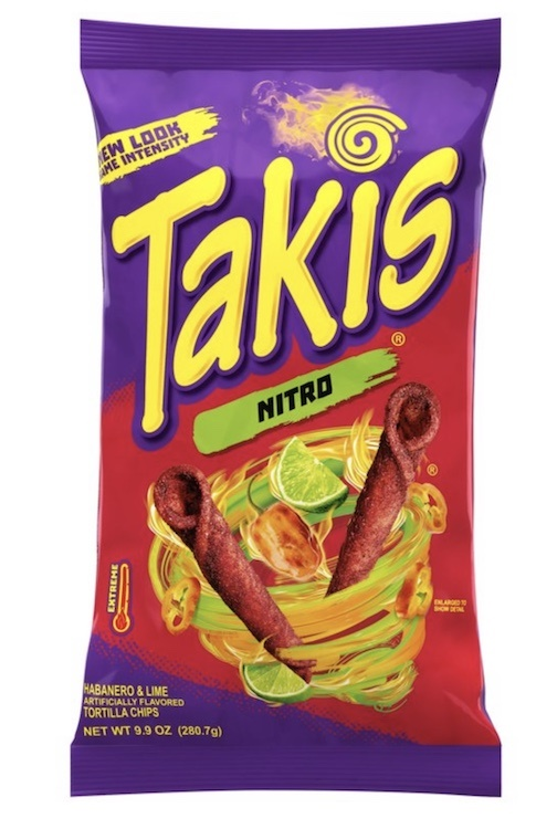 Picture of Takis Nitro Habanero & Lime by Barcel 9.88 oz (Pack of 3) - Item No. 57528-00318