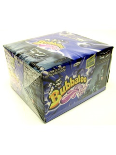 Picture of Adams Bubbaloo Bubble Gum Blueberry 60 pieces (Mora Azul) - Item No. 5770