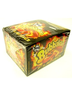 Picture of Adams Bubbaloo Fuego Bubble Gum  60 pieces - Item No. 5773