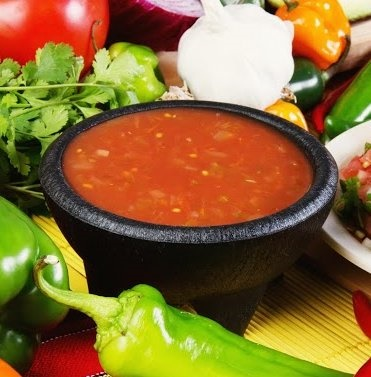 Picture of Red Chile Sauce Mexican Recipe - Item No. 589-red-chile-sauce