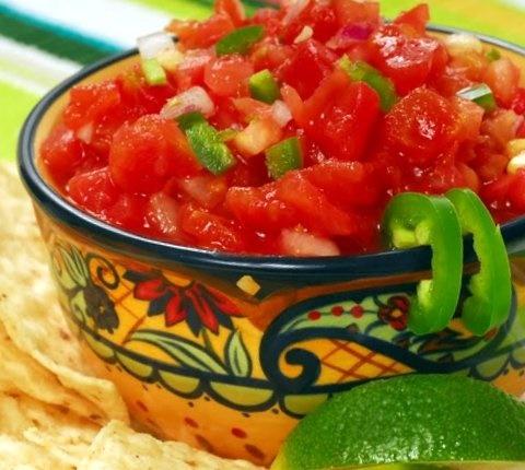 Picture of Salsa Fresca - Fresh Salsa Mexico Style- Item No.591-salsa-fresca