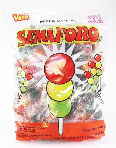 Picture of Semaforo Lollipops 22.6 oz&nbsp;- Item No.&nbsp;59686-76017