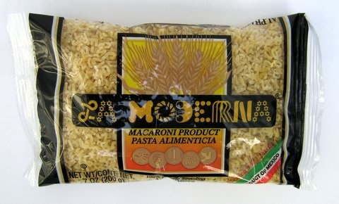 Picture of Pasta - La Moderna Alphabets Pasta - Alfabeto Pasta 7 oz - Set of 3 - Item No. 6050