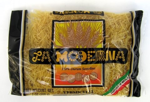 Picture of Fideos - La Moderna Vermicelli Pasta 7 oz - Set of 3 - Item No. 6051