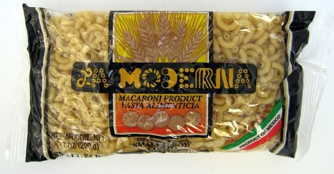 Picture of Coditos - La Moderna Elbow Small Pasta 7 oz - Set of 3 - Item No. 6055