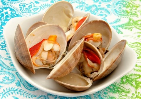 Picture of Mexican Style Clams Recipe- Item No.608-mexican-style-clams