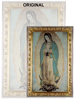 Picture of Our Lady of Guadalupe Poster - Virgin of Guadalupe - Large  46'' x 27.5''&nbsp;- Item No.&nbsp;61002