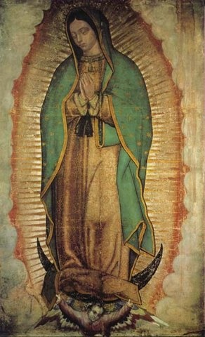 Picture of Our Lady of Guadalupe Poster - Virgin of Guadalupe Poster - Medium  36'' x 21'' - Item No. 61003