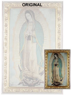 Picture of Our Lady of Guadalupe Poster - Small  27'' x 16''&nbsp;- Item No.&nbsp;61004