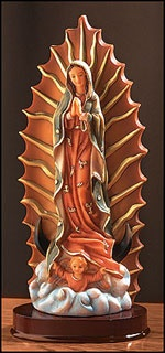 "Picture of Our Lady of Guadalupe Statue - 16"" H - Item No. 61021"