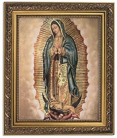 Picture of Our Lady of Guadalupe Frame - Item No. 61024