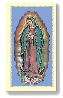 Picture of Nuestra Senora de Guadalupe - Virgen de Guadalupe 10 estampas - Item No. 61026