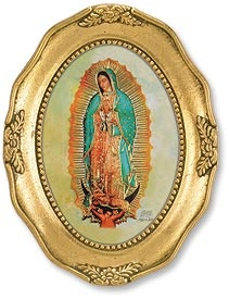 Picture of Our Lady of Guadalupe Icon - 8&quot; H&nbsp;- Item No.&nbsp;61027