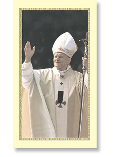 Picture of Pope John Paul II - Papa Juan Pablo II - 10 Holy Cards - Item No. 61042