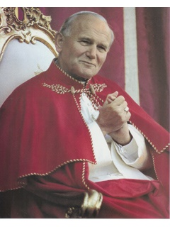 Picture of Pope John Paul II - Papa Juan Pablo II - Photograph - Item No. 61044-popejohnpaulii