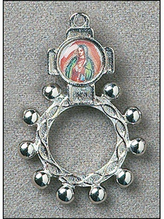 Picture of Our Lady of Guadalupe Rosary Ring - Rosario Virgen Guadalupe&nbsp;- Item No.&nbsp;61044