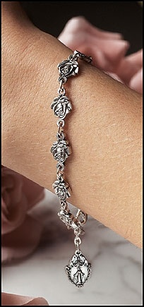 Picture of Our Lady of Guadalupe Bracelet / Rosary - Pulsera Virgen de Guadalupe - Item No. 61046