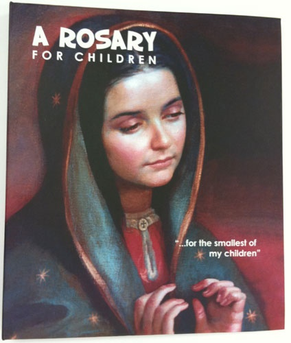 Picture of A Rosary for Children Book with images of Our Lady of Guadalupe&nbsp;- Item No.&nbsp;61047