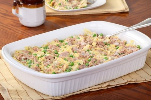 Picture of Tuna Casserole Mexican Recipe - Item No. 611-tuna-casserole
