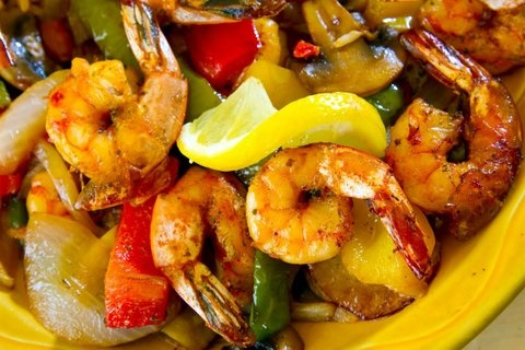 Picture of Shrimp in Garlic Sauce Mexican Recipe- Item No.614-shrimp-in-garlic-sauce-ii
