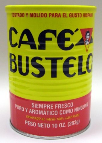 Picture of Ground Coffee - Caf� Bustelo 100% Cafe Puro 10 oz - Item No. 6202