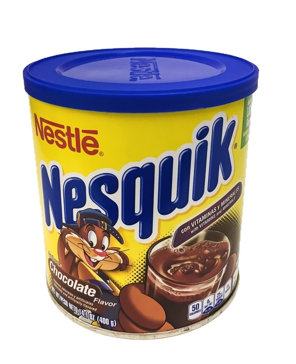 Picture of NesQuik Chocolate Drink Mix 400 grms&nbsp;- Item No.&nbsp;6204