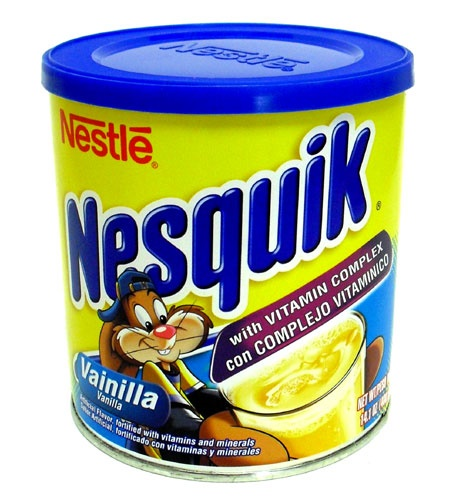 Picture of Nesquik Vanilla Drink Mix 400 g by Nestle - Item No. 6205
