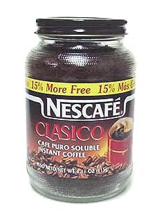 Picture of Mexican Coffee - Nescafe Instant Coffee Clasico - 100 g - Item No. 6208