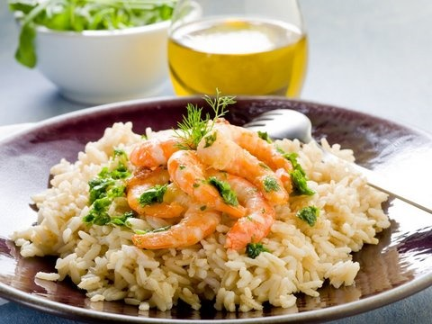 Picture of Spicy Shrimp and Rice Mexican Recipe- Item No.622-spicy-shrimp-and-rice