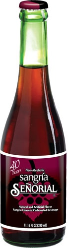 Picture of Sangria Senorial - Mexican Sangria Soft Drink 11 oz. - Item No. 6257