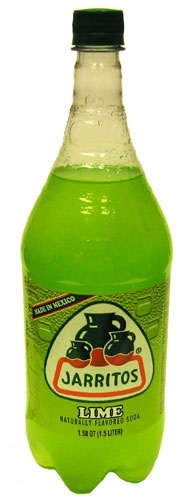 Picture of Lime Flavor - Jarritos Lime Soda 1.5 liter&nbsp;- Item No.&nbsp;6269