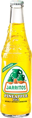 Picture of Pineapple Flavor - Jarritos Pineapple Soda 12.5 oz. - Item No. 6273