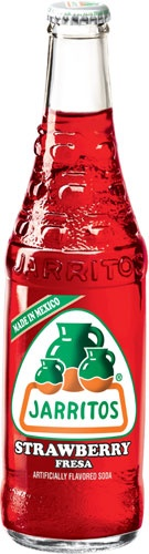 Picture of Strawberry - Jarritos Strawberry Soft Drink 12.5 oz (Pack of 6) - Item No. 6278