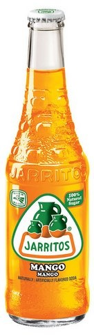 Picture of Mango Soda Pop - Jarritos Mango 12.5 oz - Item No. 6293