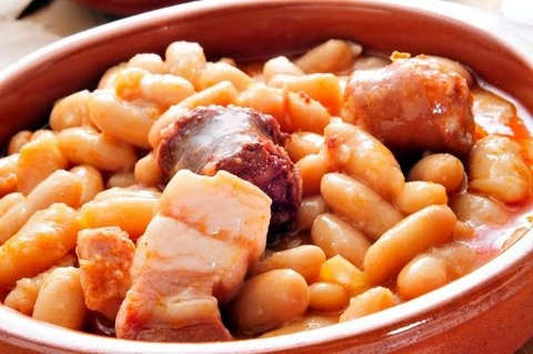 Picture of Fabada Asturiana - Fabada Spanish Soup Recipe - Item No. 630-fabada