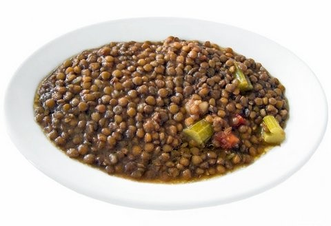 Picture of Lentil Soup - Sopa de Lenteja Mexican Style Recipe - Item No. 631-lentil-soup