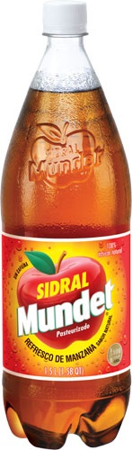 Picture of Sidral Mundet Apple Soda 1.5 liter&nbsp;- Item No.&nbsp;6314