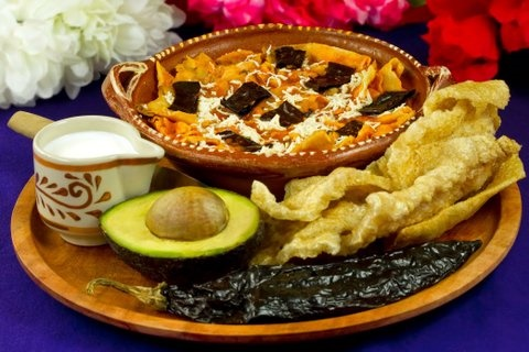 Picture of Tortilla Soup Authentic Mexican Food Recipe - Item No. 636-tortilla-soup---authentic-mexican-food-recipe
