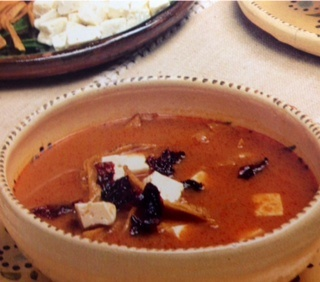 Picture of Tortilla Soup Mexican Style - Item No. 640-tortilla-soup-mexican-style