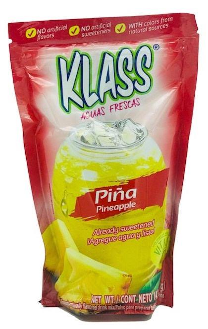 Picture of Pineapple Drink Mix - KLASS LISTO Agua de Pina  - 14.1 oz - Item No. 6461
