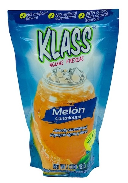 Picture of Cantaloupe Drink Mix - KLASS LISTO Agua de Melon - 14.1 oz - Item No. 6469