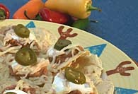 Picture of Nachos Santa Fe - Item No. 65-nachossantafe