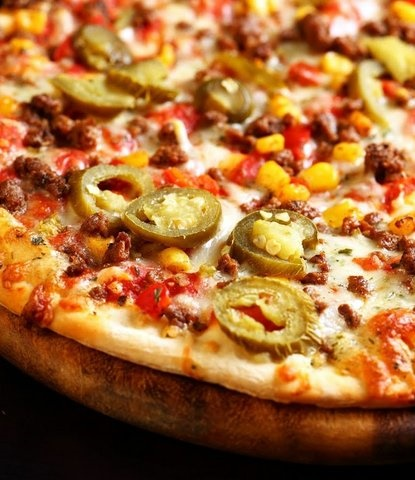 Picture of Mexican Pizza Recipe- Item No.656-mexican-pizza