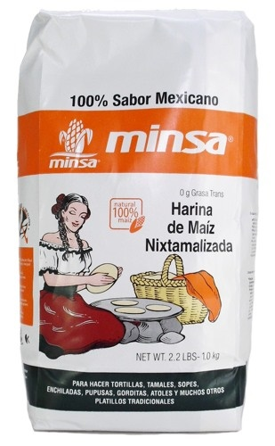 Picture of Minsa Tortilla Corn Flour Mix 2.2 lbs  - Item No. 69294-50624