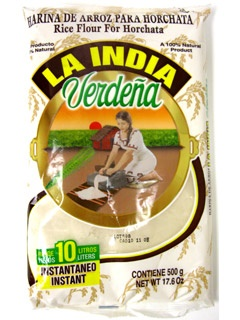 Picture of Rice Flour for Horchata by La India Verde�a - 17.6 oz - Item No. 700048
